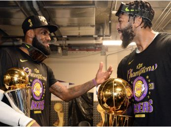 Los Angeles Lakers, LeBron James y Anthony Davis
