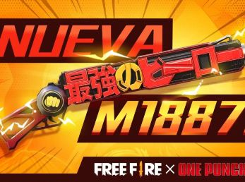 Free Fire presenta su arma de One Punch Man