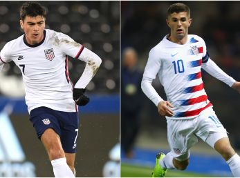 Giovanni Reyna y Christian Pulisic