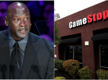 Michael Jordan y GameStop (Foto: Getty)